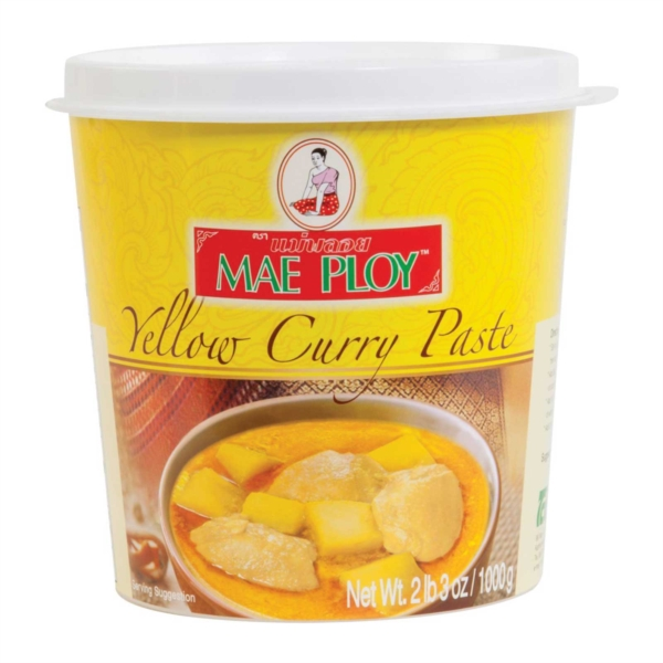 Yellow Curry Paste Mae Ploy Surya Foods Uk