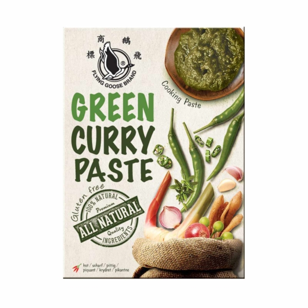 All Natural Green Curry Paste